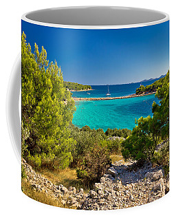 Beautiful Emerald Beach On Murter Island Coffee Mug