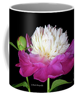 Beautiful Fancy Peony Coffee Mug