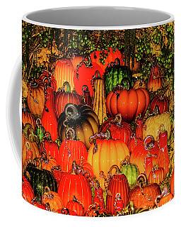 Beautiful Glass Pumpkins Coffee Mug