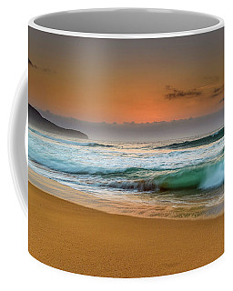 Beautiful Hazy Sunrise Seascape  Coffee Mug
