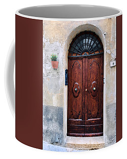 Viaje Beautiful Italian Door Volterre  Coffee Mug