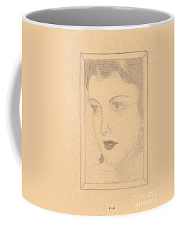Beautiful Lady Face Coffee Mug