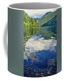 Coffee Mug featuring the photograph Beautiful Lake Crescent Washington by Dan Sproul