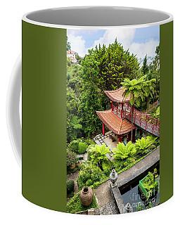 Beautiful Pagoda In Tropical Garden Coffee Mug