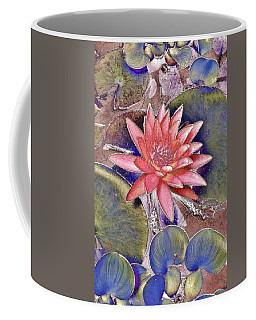 Beautiful Pink Lotus Abstract Coffee Mug