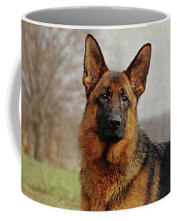 Coffee Mug featuring the photograph Beautiful Raven by Sandy Keeton