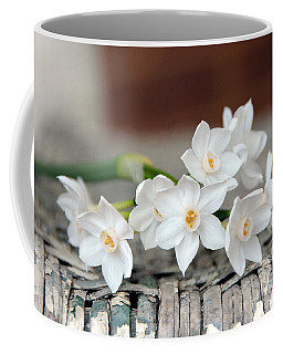 Beautiful Spring Paperwhites Coffee Mug