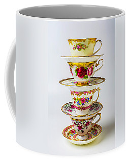 Beautiful Stacked Tea Cups Coffee Mug
