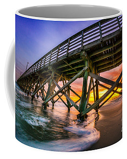 Beautiful Sunset In Myrtle Beach Coffee Mug by David Smith