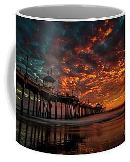 Beautiful Sunset Coffee Mug by Peter Dang