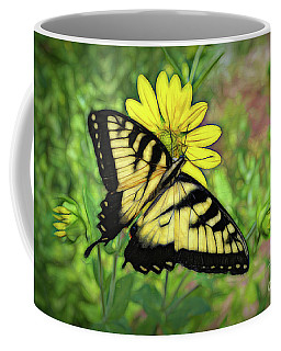 Beautiful Swallowtail Butterfly Coffee Mug