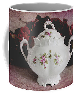 Coffee Mug featuring the photograph Beautiful Victorian Bowl  by Trina Ansel