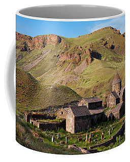 Beautiful Vorotnavank Monastery At Evening, Armenia Coffee Mug
