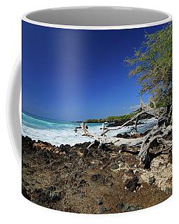 Beautiful Waialea Beach II Coffee Mug by Mary Haber