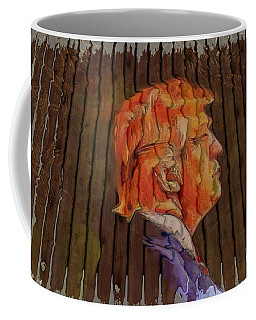 Donald Looser - Fence Dream Coffee Mug by Maciek Froncisz