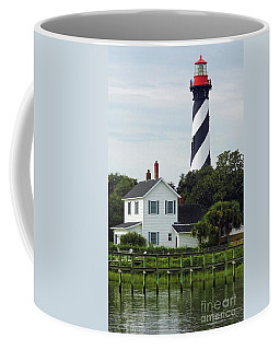 Beautiful Waterfront Lighthouse Coffee Mug