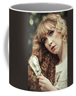 Beautiful Young Woman  Coffee Mug
