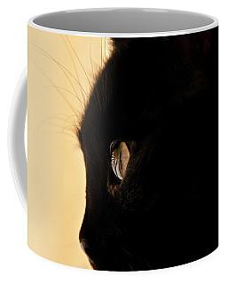 Beautifull Black Cat Coffee Mug