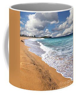 Beauty And The Beach By Kaye Menner Coffee Mug