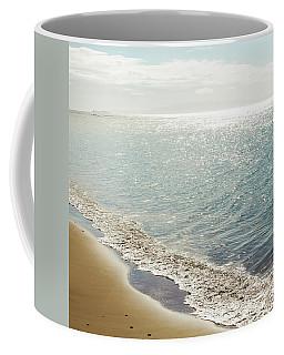 Coffee Mug featuring the photograph Beauty And The Beach by Sharon Mau