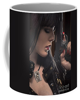 Beauty And The Beast Coffee Mug by David Bazabal Studios