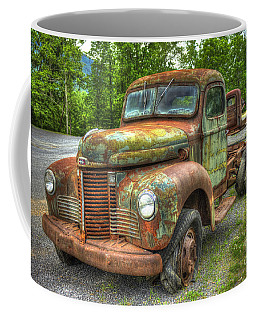 Beauty And The Best 1947 International Harvester Kb 5 Truck Coffee Mug