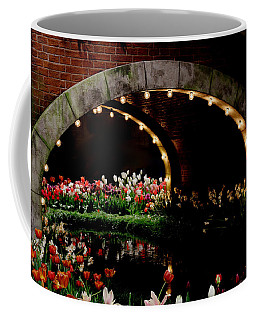Beauty And The Bridge Coffee Mug by Living Color Photography Lorraine Lynch