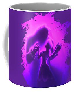 Coffee Mug featuring the mixed media Beauty Beast by David Millenheft