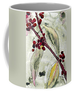 Beauty Berry Branch Coffee Mug