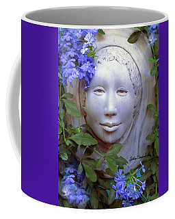 Beauty Blue Coffee Mug by Debbie Chamberlin