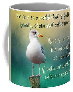 Beauty, Charm And Adventure Coffee Mug