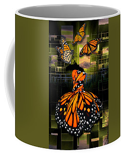 Coffee Mug featuring the mixed media Beauty In All Things by Marvin Blaine