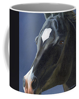 Beauty In Black Coffee Mug