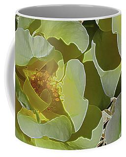 Beauty In Facets 5 Coffee Mug by Lynda Lehmann