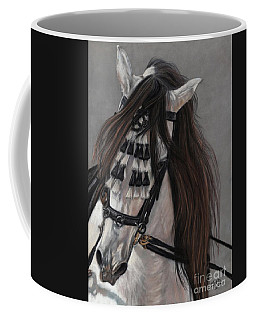 Coffee Mug featuring the painting Beauty In Hand by Sheri Gordon