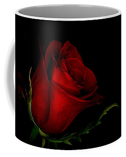 Beauty In Red Coffee Mug by Ernie Echols