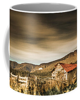 Beauty In Rural Dilapidation Coffee Mug
