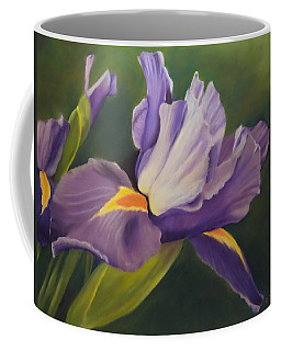 Beauty Is In The Iris Coffee Mug