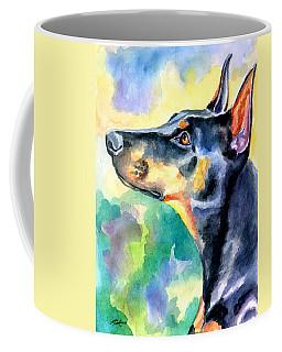 Doberman Pinscher Coffee Mugs