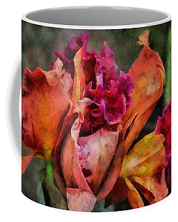 Beauty Of An Orchid Coffee Mug by Trish Tritz