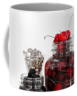 Beauty Of Red Cherries Coffee Mug