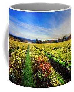 Beauty Over The Vineyard Coffee Mug