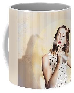 Beauty Parlour Pinup Coffee Mug