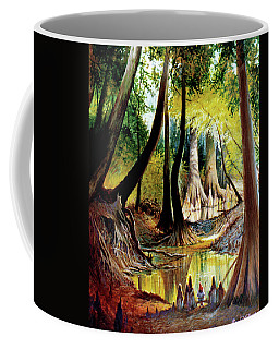 Beaver Dam On Village Creek Coffee Mug