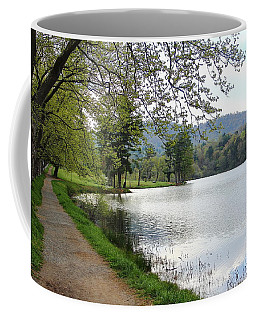 Beaver Lake Path Coffee Mug