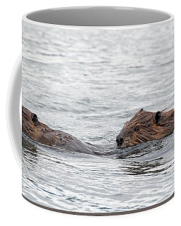 Beaver Pair I Coffee Mug