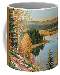 Beaver Pond Lookout Coffee Mug