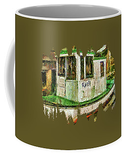 Coffee Mug featuring the photograph Beaver The Old Fishing Boat by Thom Zehrfeld