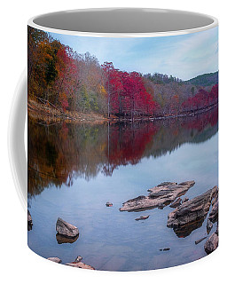 Coffee Mug featuring the photograph Beavers Bend State Park by Robert Bellomy
