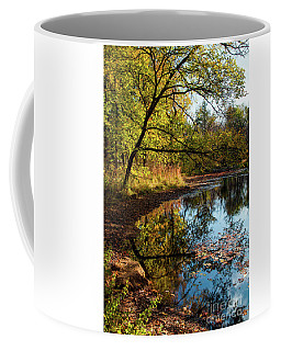Beaver's Pond Coffee Mug by Iris Greenwell